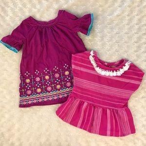 Genuine Kids by OshKosh Baby Girl Bundle 12 Months